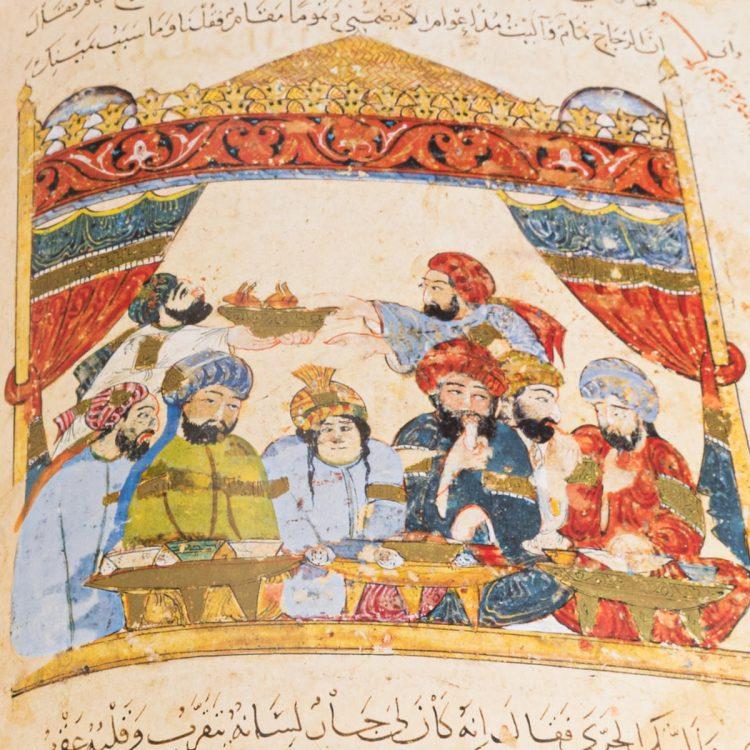 Detail of the Maqamat Al-Hariri
