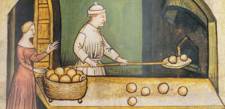 Detail from the Tacuinum Sanitatis in Medicina