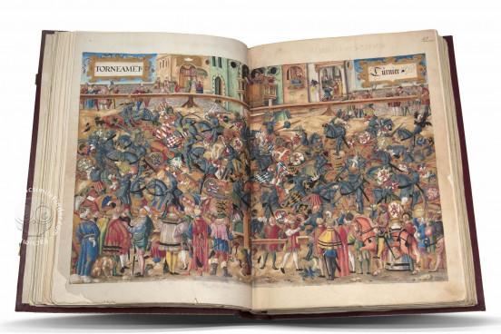 Codex Escurialensis, San Lorenzo de El Escorial, Real Biblioteca del Monasterio de El Escorial, MS 28-I-11 − Photo 1