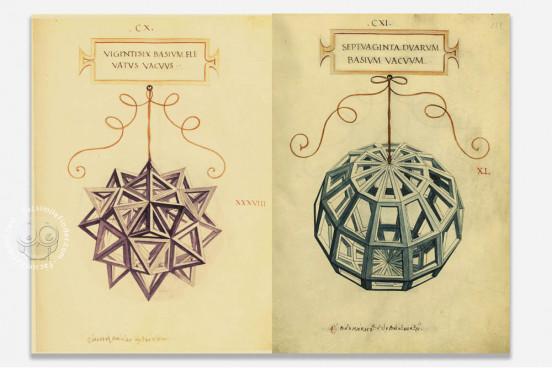 De Divina Proportione, Milan, Biblioteca Ambrosiana, Ms 170 sup. − Photo 1