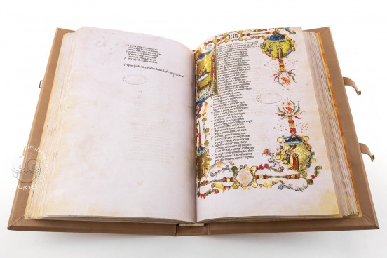 Divina Commedia di San Bernardo, Padua, Biblioteca del Seminario vescovile, Cod. 9 − Photo 1