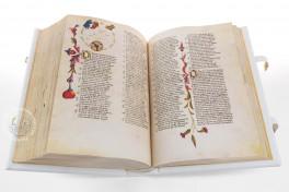 Divina Commedia degli Obizzi Facsimile Edition