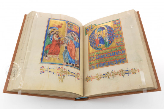 Breslau Psalter, Cambridge, Fitzwilliam Museum, MS 36-1950 − Photo 1