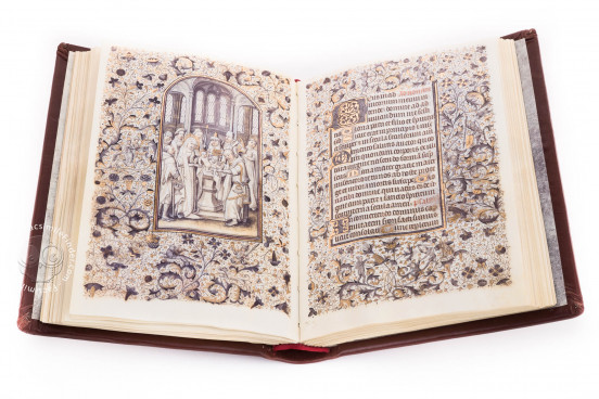 Libro de Horas de la Reina Doña Leonor, Lisbon, Biblioteca Nacional de Portugal, II.165 BNP − Photo 1