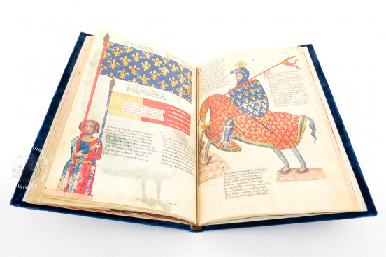 Panegyric in Honor of King Robert of Anjou, Florence, Biblioteca Nazionale Centrale, Banco Rari 38 − Photo 1