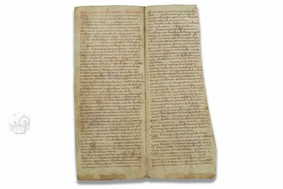 Capitulare de Villis, Wolfenbüttel, Herzog August Bibliothek, Cod. Guelf. 254 Helmst. − Photo 1