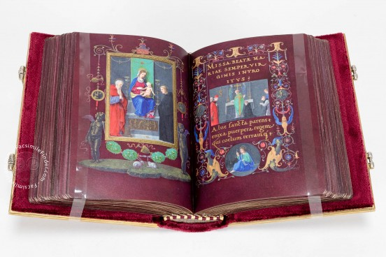 Durazzo Book of Hours, m.r. C.f. Arm. I - Biblioteca Civica Berio (Genoa, Italy) − photo 1