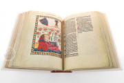 Codex Manesse, Heidelberg, Universitätsbibliothek Heidelberg, Cod. Pal. germ. 848 − Photo 3