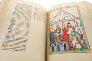 Codex Manesse, Heidelberg, Universitätsbibliothek Heidelberg, Cod. Pal. germ. 848 − Photo 4