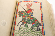 Codex Manesse, Heidelberg, Universitätsbibliothek Heidelberg, Cod. Pal. germ. 848 − Photo 5