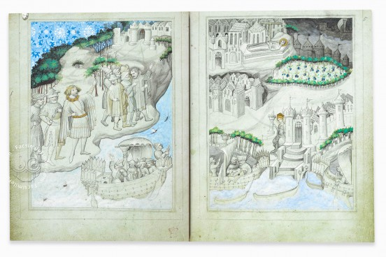 Travels of Sir John of Mandeville, London, British Library, Add MS 24189 − Photo 1