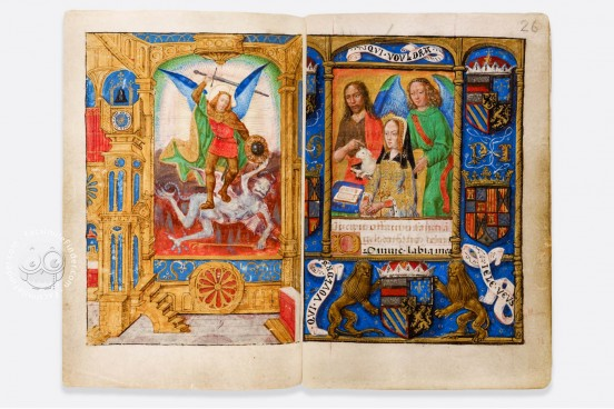 Hours of Joanna I of Castile and Philip the Fair, London, British Library, Add MS 18852 − Photo 1