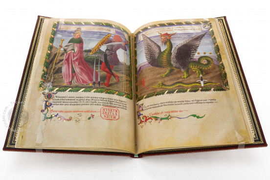 Vaticinia Pontificum by Benozzo Gozzoli, London, British Library, MS Harley 1340 − Photo 1