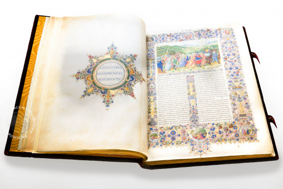 Bible of Federico da Montefeltro, Vatican City, Biblioteca Apostolica Vaticana, Mss. Urb. Lat. 1 and Urb. Lat. 2 − Photo 1