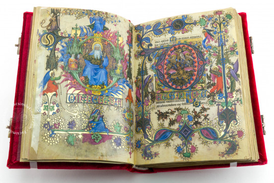 Visconti Book of Hours, Mss. BR 397 e LF 22 - Biblioteca Nazionale Centrale (Florence, Italy) − photo 1