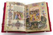 Visconti Book of Hours, Mss. BR 397 e LF 22 - Biblioteca Nazionale Centrale (Florence, Italy) − photo 4