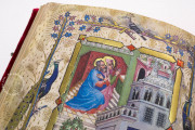 Visconti Book of Hours, Mss. BR 397 e LF 22 - Biblioteca Nazionale Centrale (Florence, Italy) − photo 12