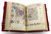 Visconti Book of Hours, Mss. BR 397 e LF 22 - Biblioteca Nazionale Centrale (Florence, Italy) − photo 21