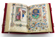 Visconti Book of Hours, Mss. BR 397 e LF 22 - Biblioteca Nazionale Centrale (Florence, Italy) − photo 23