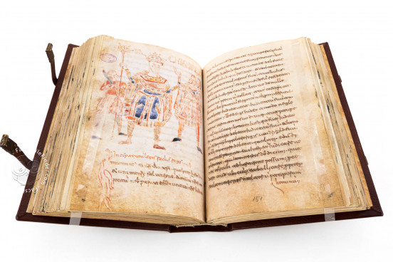 Codex Legum Langobardorum, Cava de' Tirreni, Biblioteca Statale del Monumento Nazionale della Badia, Cod. Cavense 4 − Photo 1