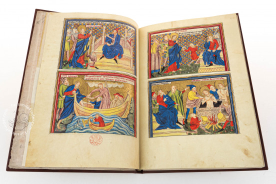 Life of John and the Apocalypse, London, British Library, Add. Ms. 38121 − Photo 1