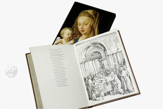 Life of the Virgin of Albrecht Dürer, Madrid, Biblioteca Nacional de España, ER/1663(1)-ER/1663(16) Vienna, Albertina Museum − Photo 1