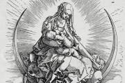 Life of the Virgin of Albrecht Dürer, Madrid, Biblioteca Nacional de España, ER/1663(1)-ER/1663(16) Vienna, Albertina Museum − Photo 2