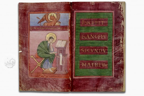 Strahov Evangeliary, Prague, Library of Strahov Monastery, DF III 3 − Photo 1