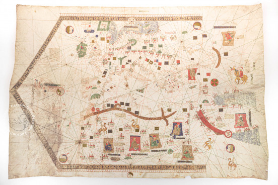 The 1439 Portolan Chart by Gabriel de Vallseca, Barcelona, Museu Maritim − Photo 1