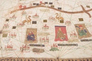 The 1439 Portolan Chart by Gabriel de Vallseca, Barcelona, Museu Maritim − Photo 3