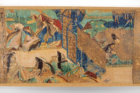 Tale of Genji Scroll, Tokyo, Gotoh Museum Nagoya, Tokugawa Art Museum − Photo 1