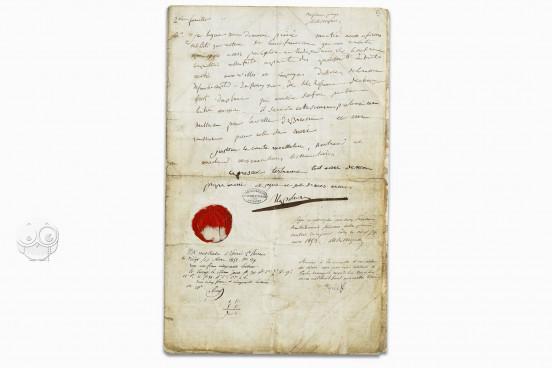 Napoleon's Will, Paris, Archives Nationales − Photo 1