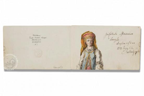 Family Book of Ernst Theodor Langers, Wolfenbüttel, Herzog August Bibliothek, Cod. Guelf. 276.3 − Photo 1