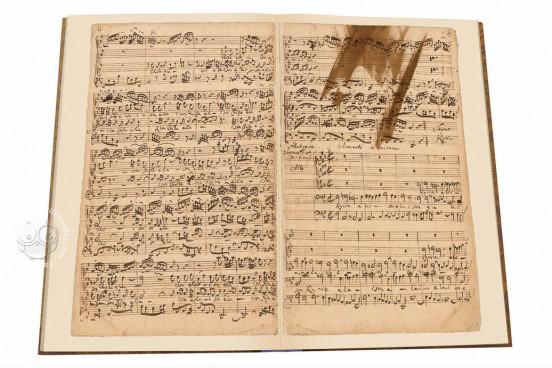 Mass B minor BWV 232 by Johann Sebastian Bach, Berlin, Staatsbibliothek Preussischer Kulturbesitz − Photo 1