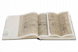 Missa Solemnis op.123 by Ludwig van Beethoven Facsimile Edition