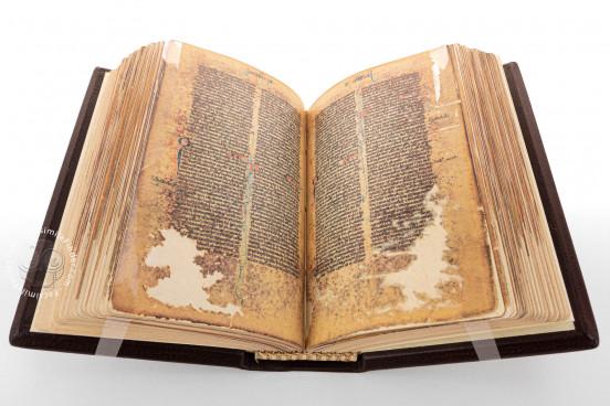 Bible of Marco Polo, Florence, Biblioteca Medicea Laurenziana, Pluteo 3, capsula 1 − Photo 1