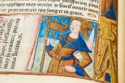Great Hours of Rouen, Rouen, Bibliothèque Jacques Villon, Ms. Leber 155 − Photo 10