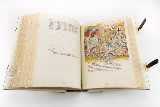 Diebold Schilling's Spiez Illuminated Chronicle, Bern, Burgerbibliothek, Mss.h.h.I.16 − Photo 1