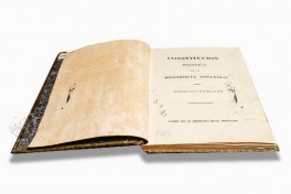 Constitution of 1812 Facsimile Edition
