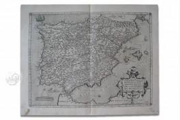 Map of Spain - Abraham Ortelius Facsimile Edition
