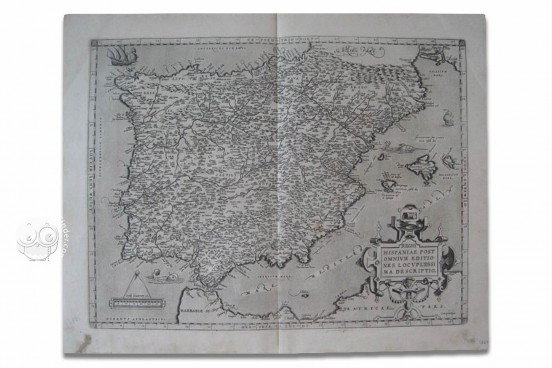 Map of Spain - Abraham Ortelius, Private Collection − Photo 1