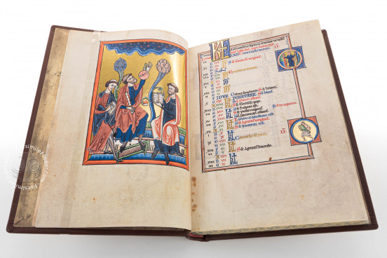 Psalter of Blanche of Castile, Paris, Bibliothèque de l'Arsenal, MS 1186 − Photo 1