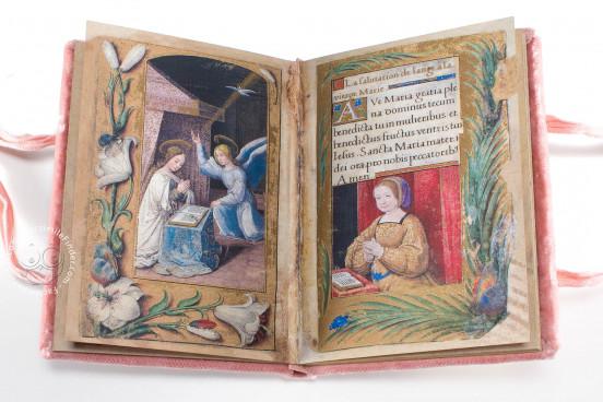 Petites Prières of Renée de France, Modena, Biblioteca Estense Universitaria, α.U.2.28=lat. 614 (now lost) − Photo 1
