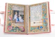 Petites Prières of Renée de France, Modena, Biblioteca Estense Universitaria, α.U.2.28=lat. 614 (now lost) − Photo 4