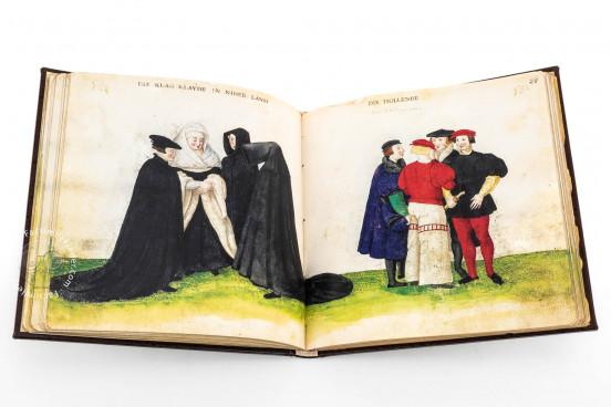 Codex of Costumes, Madrid, Biblioteca Nacional de España, Res/285 − Photo 1