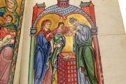 Bamberg Psalter, Bamberg, Staatsbibliothek Bamberg, Msc.Bibl.48, The Bamberg Psalter contains 3 inhabited initials