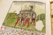 Swiss Chronicle of Wernher Schodoler, Überlingen, Leopold-Sophien-Bibliothek, MS 62 Bremgarten, Stadtarchiv Bremgarten, Ba. Nr.2 Aarau, Aargauische Kantonsbibliothek, MS.Bibl.Zurl.Fol.18 − Photo 11