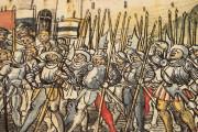 Swiss Chronicle of Wernher Schodoler, Überlingen, Leopold-Sophien-Bibliothek, MS 62 Bremgarten, Stadtarchiv Bremgarten, Ba. Nr.2 Aarau, Aargauische Kantonsbibliothek, MS.Bibl.Zurl.Fol.18 − Photo 12