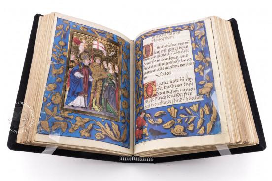 German Prayer Book of the Margravine of Brandenburg, Hs. Durlach 2 - Badische Landesbibliothek (Karlsruhe, Germany) − photo 1