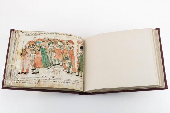 Codex Choumach (Picture Pentateuch of Moses dal Castellazzo), Warsaw, Zydowski Instytut Historyczny, Codex 1164 − Photo 1